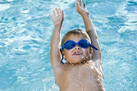 Privé zwemles voor kinderen