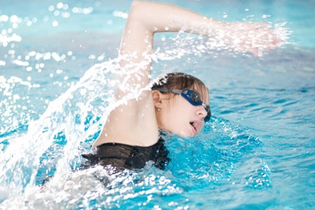 Private swimming lessons for adults